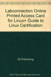 LabConnection Online Printed Access Card for Linux+ Guide to Linux Certification