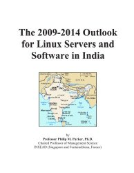 The 2009-2014 Outlook for Linux Servers and Software in India