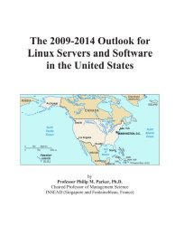 The 2009-2014 Outlook for Linux Servers and Software in the United States