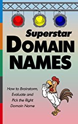 Superstar Domain Names: How to Brainstorm, Evaluate and Pick the Right Domain Name