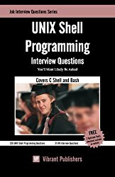 UNIX Shell Programming Interview Questions You'll Most Likely Be Asked (Job Interview Questions)