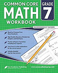 7th grade Math Workbook: CommonCore Math Workbook